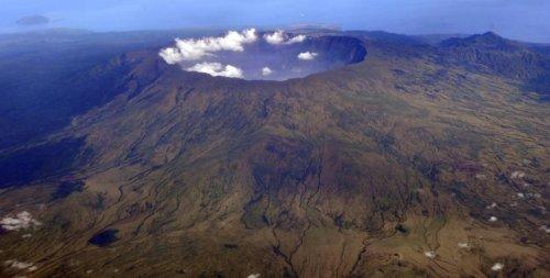 Chilensk vulkan har fatt kraftfullt utbrott