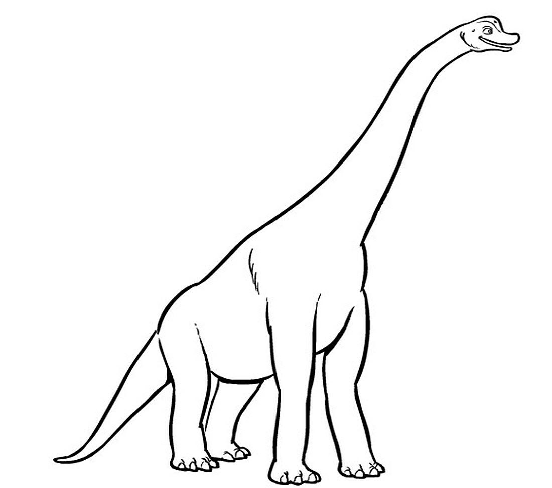 Lukisan Dinosaur Kanak Kanak